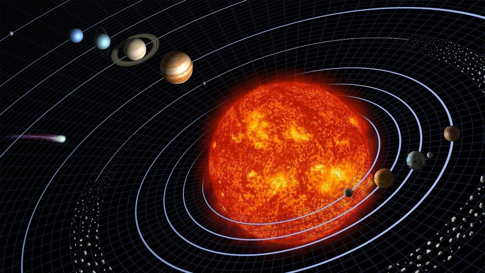 Solar system: Amazing reason why planets orbit in same plane explained - HT Tech