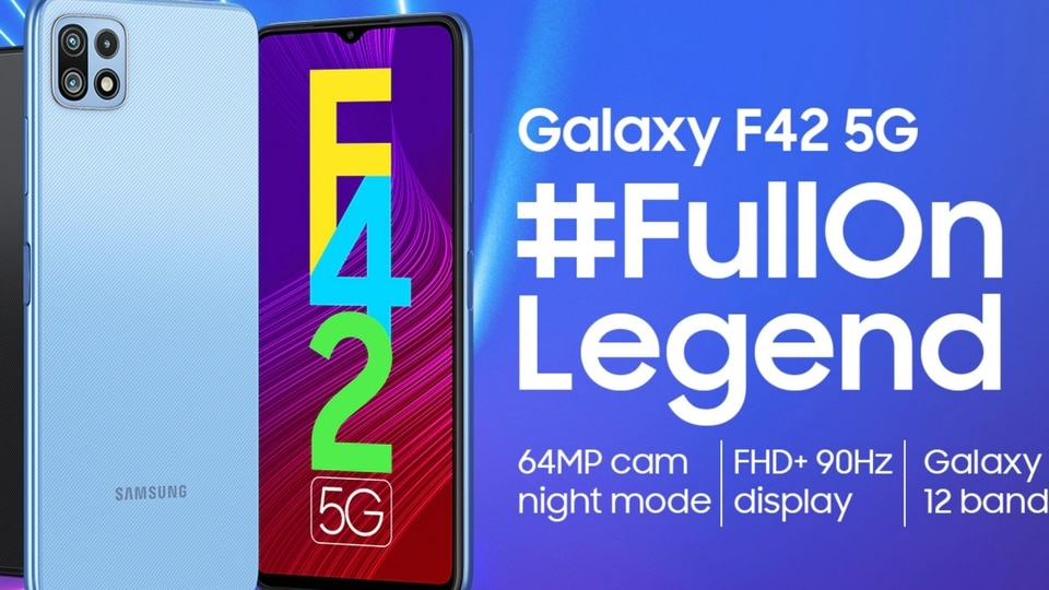 Ahead of the launch of the Samsung Galaxy F42 5G, the microsite for the upcoming smartphone has gone live in India.