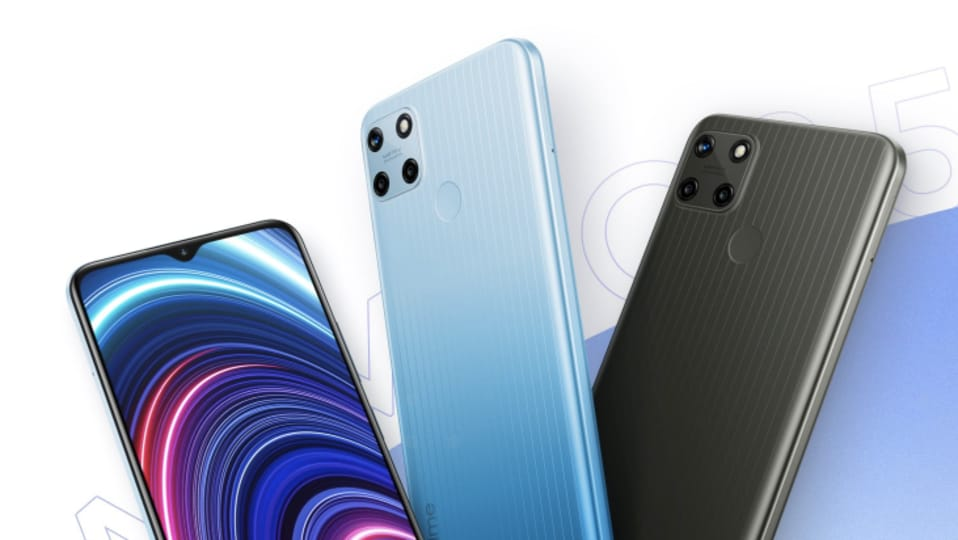 Realme C25Y price is <span class='webrupee'>₹</span>10,999 for the variant with 4GB of RAM and 64GB of storage space.