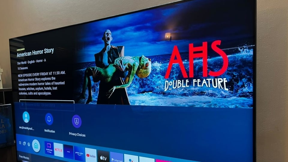 We tested the 55-inch Samsung QN90A Neo QLED and this 4K smart TV comes with very thin bezels and a chunky stand.