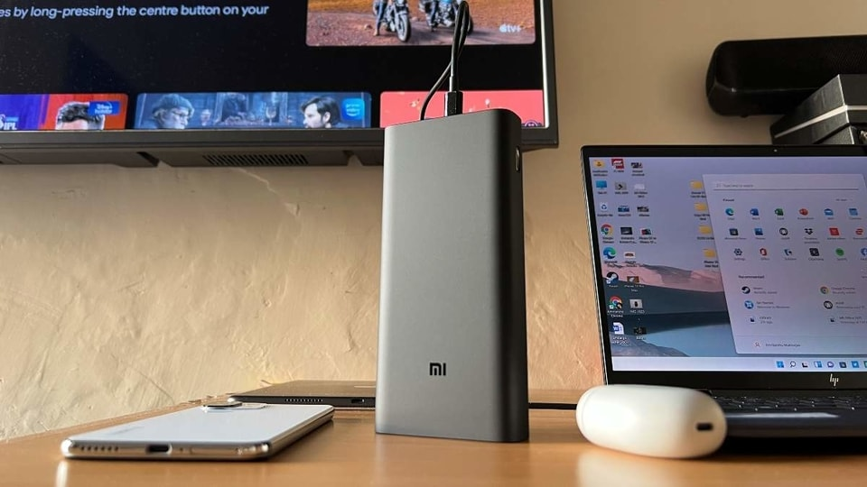 The Xiaomi Mi Power Bank Hypersonic 50W costs <span class='webrupee'>₹</span>3,599 and brings USB-PC charging to the mix.