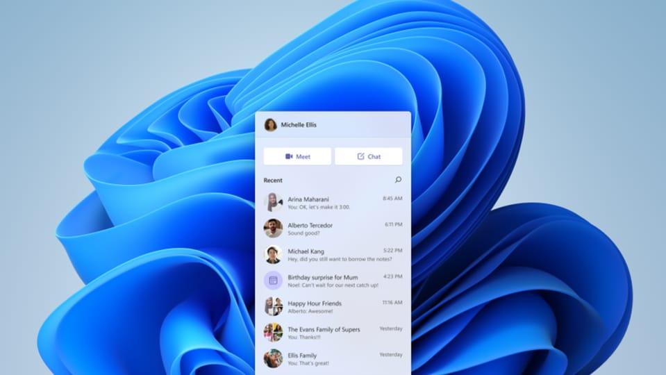 On Windows 11, Microsoft Teams personal chats allow MS Teams personal account users to quickly start a video call or chat with friends and family.