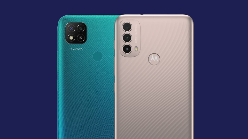 The Moto E40 competes directly with the Redmi 9 Activ in the sub- <span class='webrupee'>₹</span>10,000 smartphone category.