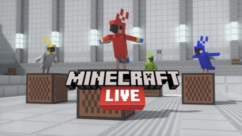 Minecraft Live 2021 event live stream can be viewed on the official website, on Twitch, Facebook and YouTube.