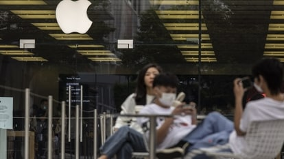 An Apple Store in Shenzhen, China, on Tuesday, Oct. 12, 2021.