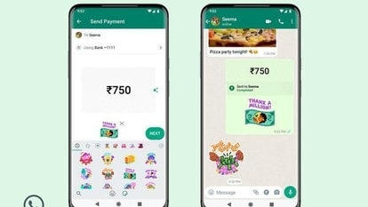 WhatsApp has also collaborated with five celebrated Indian women artists/illustrators to exclusively launch this new pack of WhatsApp Payments stickers