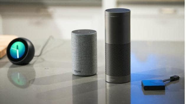 Amazon's smart speaker range includes Echo, Echo Plus, and Echo Dot.