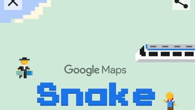 Google Maps Now Lets You Play Snake Game