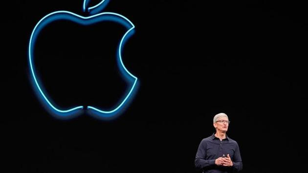 Apple CEO Tim Cook speaks during Apple's annual Worldwide Developers Conference in San Jose, California, U.S. June 3, 2019.