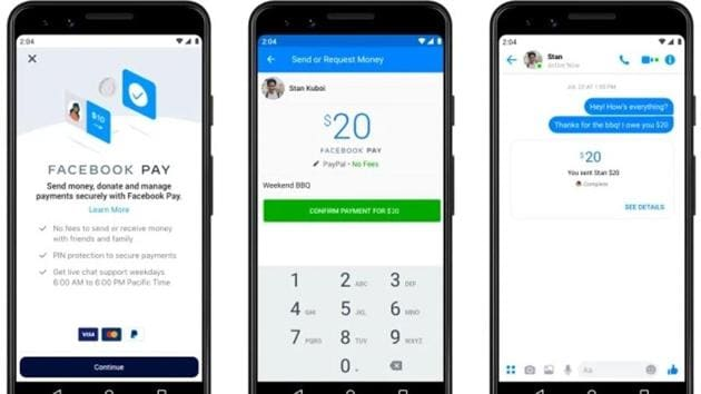 Facebook Pay launched in the US