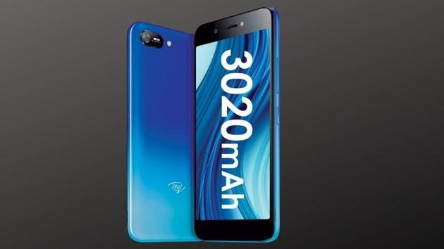 Itel A25 budget smartphone.