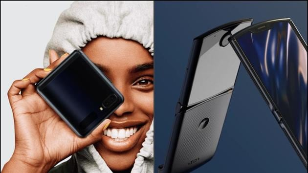 Moto Razr vs Samsung Galaxy Z Flip.