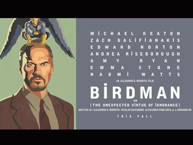 Birdman or the Unexpected Virtue of Ignorance: As the Venice Film Festival 2014 takes off in September, Here's a look at some interesting films that will come up for screening. Mexican director Alejandro Gonzalez Inarritu's Birdman or the Unexpected Virtue of Ignorance will see 'Batman' Michael Keaton play a washed-up actor, once famous for playing a superhero, who is now struggling to put on a Broadway play to reclaim his lost glory. (foxsearchlight.com/birdman)