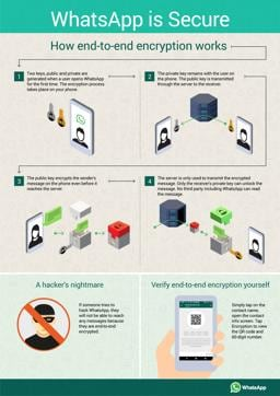 Encryption infographic