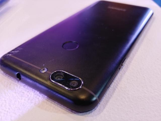 InFocus Vision 3 also offers dual rear cameras.