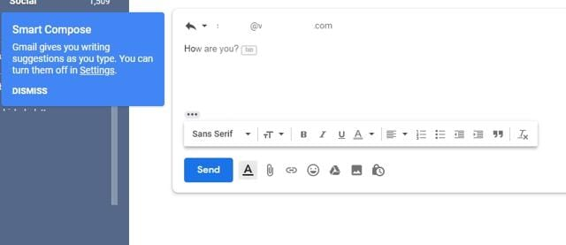 Gmail's new experimental feature