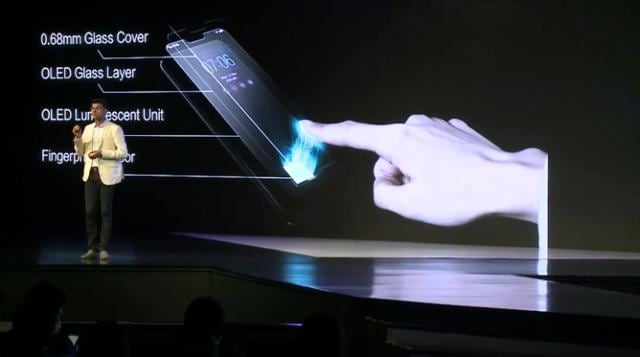 Vivo says in-display fingerprint sensor is the most intuitive way of unlocking the phone.