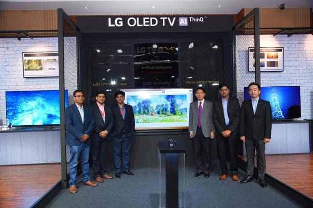 LG's ThinkQ AI-based OLED TVs are powered by Alpha 9 processor