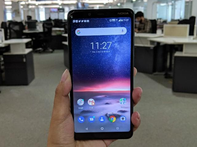 Nokia 3.1 Plus features a 6-inch HD+ display.