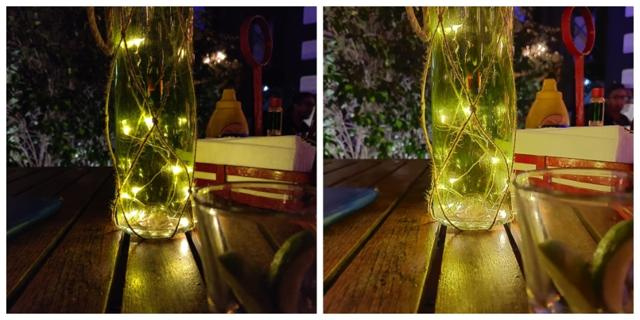Night mode (R)adds more brightness and dynamic range to the photos. The quality, however, is inconsistent.