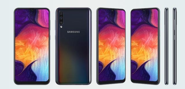 Galaxy A50 looks nothing like older budget and mid-range Galaxy phones