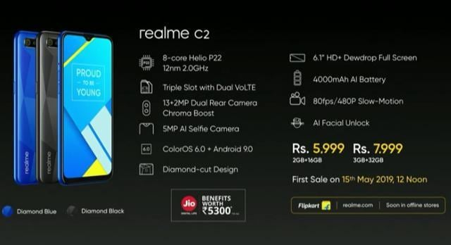 Realme C2 full specifications