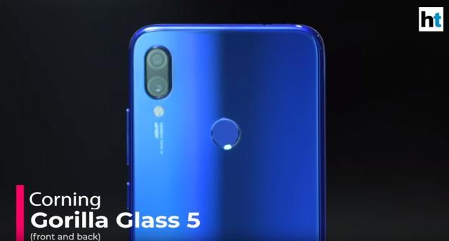 A closer look at dual-rear camera of Redmi Note 7 Pro.