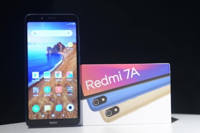 Redmi 7A comes with 4000mAh battery.