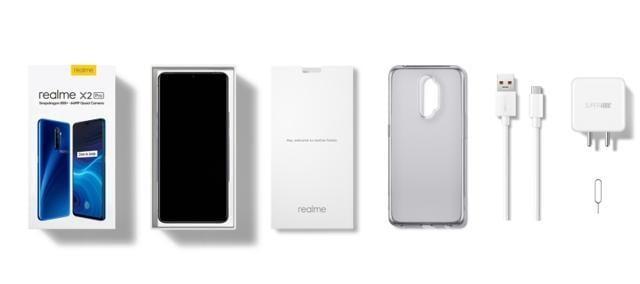 Realme X2 Pro unboxed