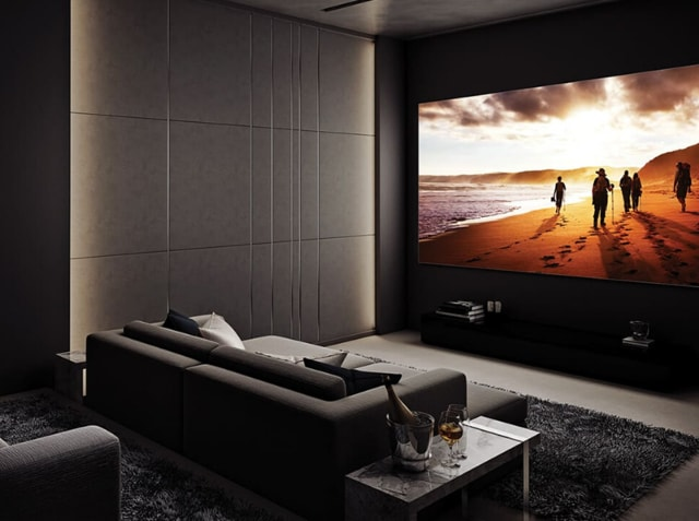 The Wall is essentially is not meant for any 'home', it is meant for much bigger spaces, like a private cinema at best if you have disposable income to boot.