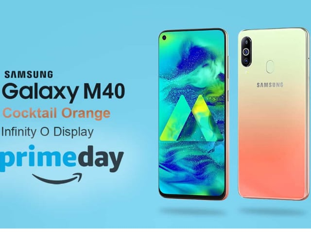 Samsung Galaxy M40 Cocktail Orange was an Amazon exclusive that got shoppers clicking away in 2019