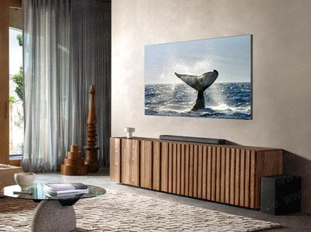 Samsung would place the screen of its zero-bezel smart TV more closer to the main body