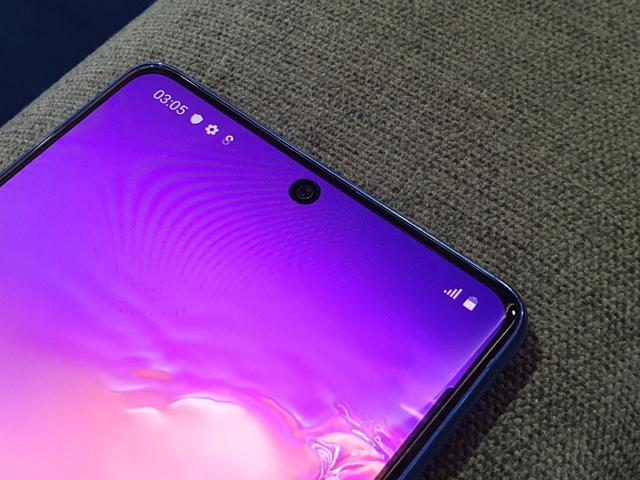 The Galaxy S10 Lite is backed by an ample 4,500mAh battery.