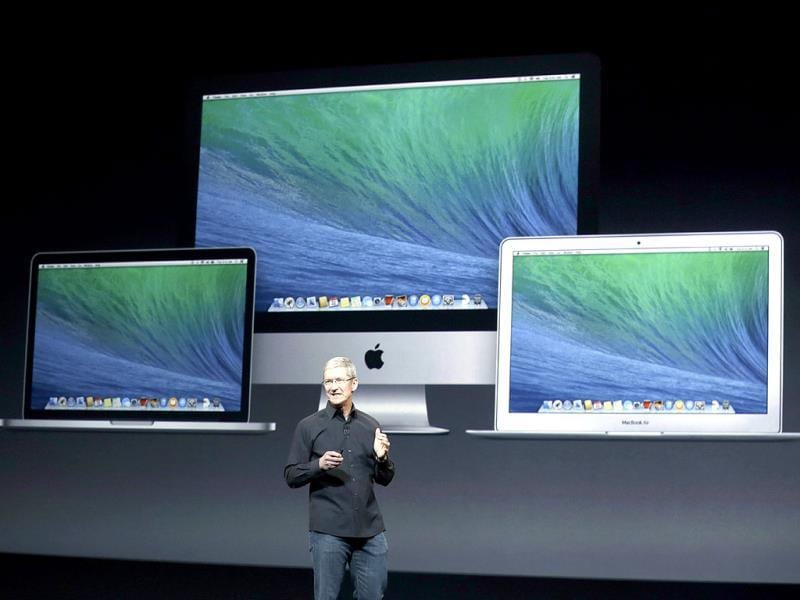Apple lauches the 15-inch MacBook Retina now with improved Intel processors, Iris Pro graphics, 8GB of RAM, starts at $1999 with 256GB SSD. (Reuters photo)