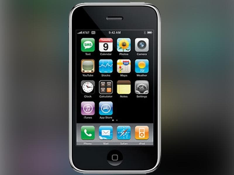iPhone was launched in 2007.