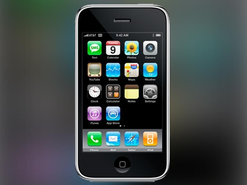 iPhone 3G was launched in 2008.