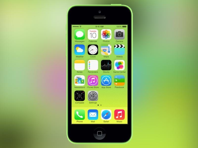 iPhone 5C was launched in 2013.