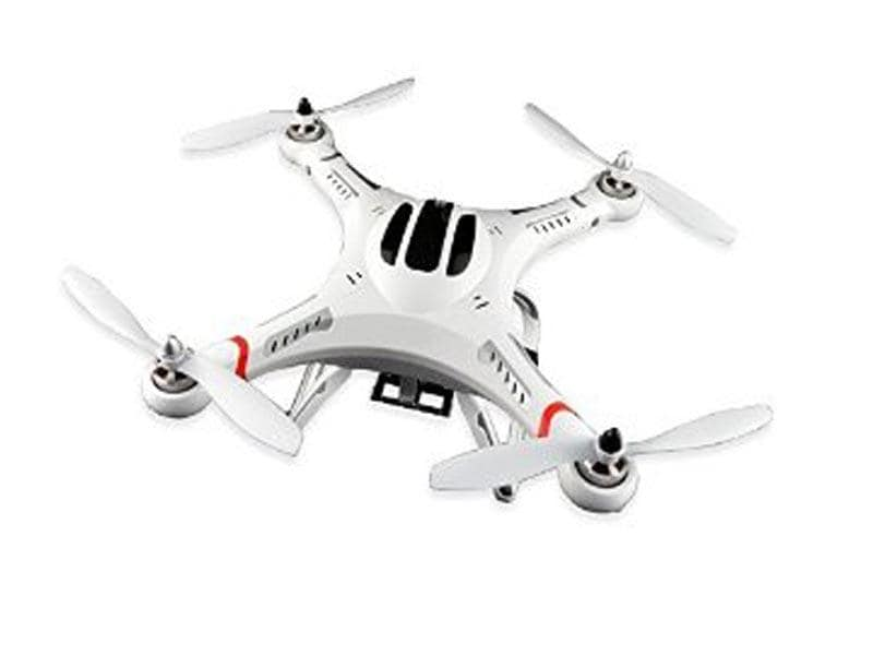 Bay Phantom 2 Plus Drone (with camera), Rs. 6,099: The Phantom 2 plus is a sleek beast that's small enough to fit into your backpack. It comes with LED lights, so you can fly it in the dark (not that you'd want to). On the flipside, it only flies for 10 minutes. Bummer.
