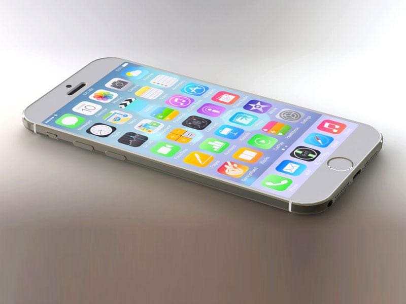 A fan made render of the iPhone 6S. Apple is set to launch it's newest flagship smartphone on Wednesday.