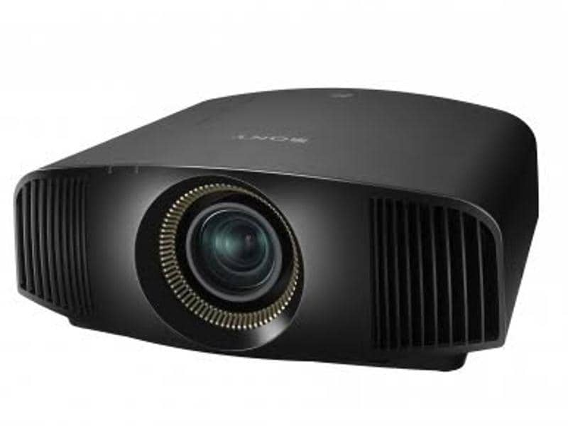 """The """"ultra-short-throw"""" projector can project a massive image even if it sits right next to screen."""