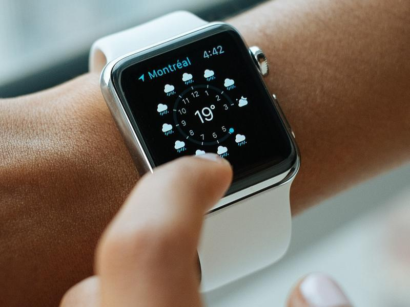 The tracking of wearables is also possible even without it being paired with to phone.
