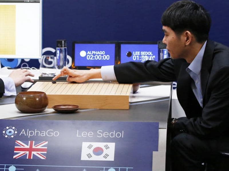 A program developed by Google's DeepMind unit called AlphaGo, has swept the first two games of a five-game match against a human Go champion