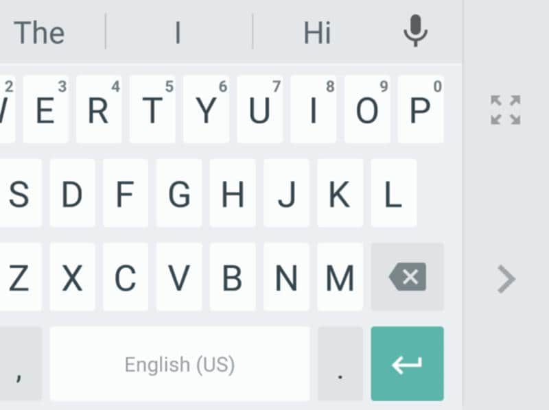 You can also change the heights of the keys with a scrubber that lets you decide how much of the screen space the keyboard is going to take up.