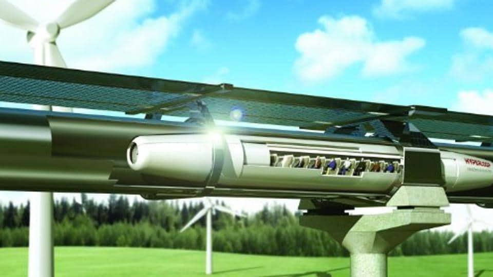 Що таке Hyperloop Transport Technologies?
