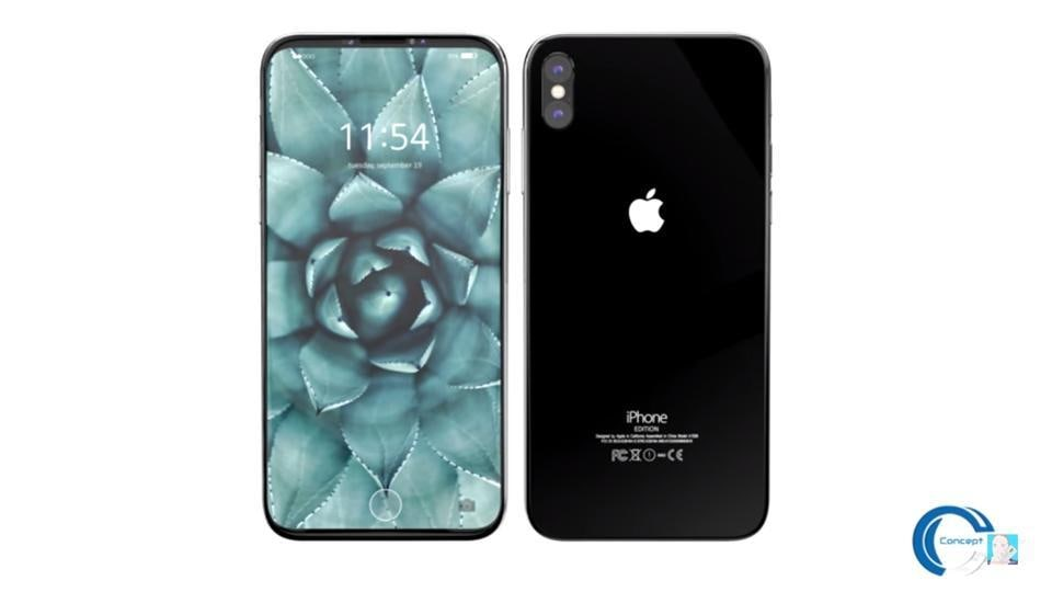 iPhone 8 is rumoured to sport a bold new design featuring an OLED display without a bezel and the company may also move the fingerprint reader to the back of the phone.