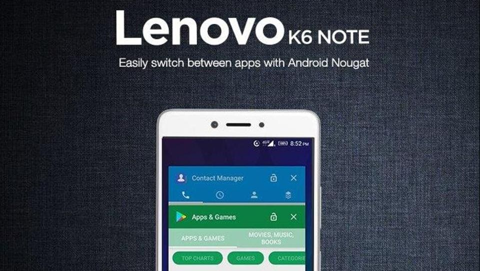 The Android update was given on 'K6 power' and 'K6 note' last month which was extended to the entire 2017 range of Lenovo smartphones.