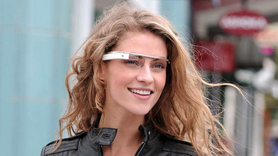 This file photo taken on April 1, 2012 shows an image released by Google that shows eyewear that meshes the online world with the real world.