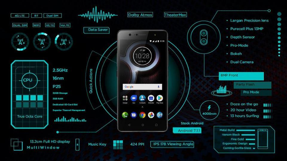 Check out the new Lenovo K8 Plus.
