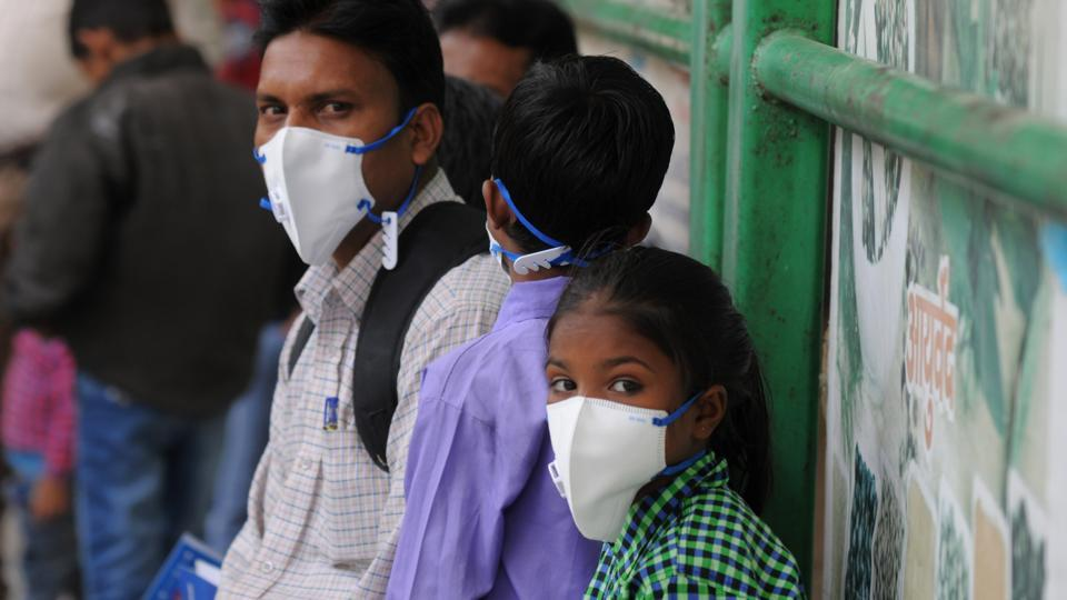 (Representative photo) According to an IIT-Delhi statement, the 'Kawach' mask is at par with the N95 mask in effectiveness, but costs just Rs 45 a piece.