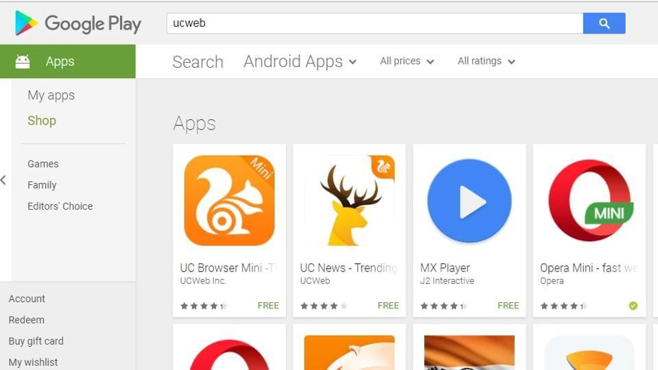 UC Browser removed from Play Store, company promises new version next week